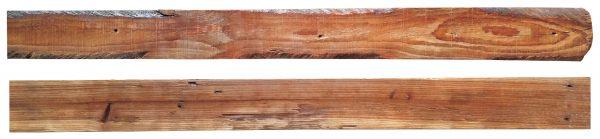Starobylé exotické dřevo - prkno délky 1 m 1