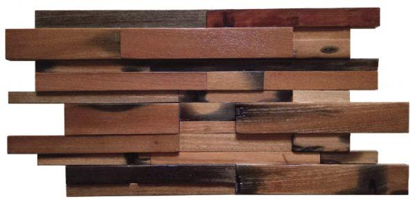 Dřevěná lodní mozaika  - obkladová dlaždice 60 x 30 cm_model SHW 6171T 1