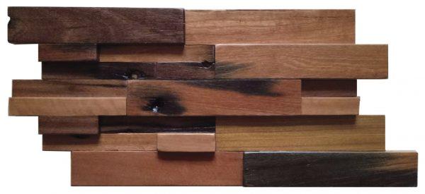 Dřevěná lodní mozaika  - obkladová dlaždice 60 x 30 cm_model SHW 6111T 1