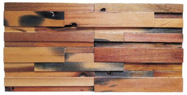 Dřevěná lodní mozaika - obkladová dlaždice 60 x 30 cm_model SHW 6144 1