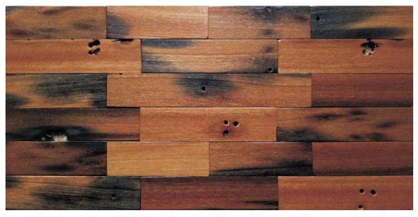 Dřevěná lodní mozaika  - obkladová dlaždice 60 x 30 cm_model SHW 6172 1