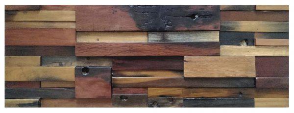 Dřevěná lodní mozaika 90 x 30 cm_model SHW 9189 1