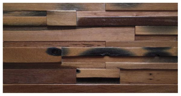 Dřevěná lodní mozaika - obkladová dlaždice 60 x 30 cm_model SHW 6191 1