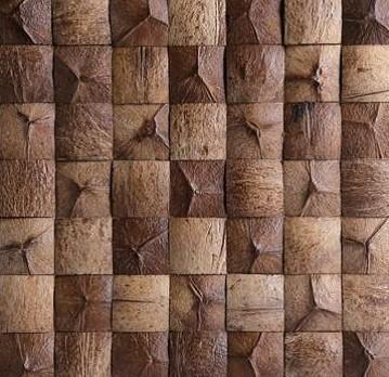 Mozaika z ořechů - obkladová dlaždice 30 x 30 cm_model COC 4109 1