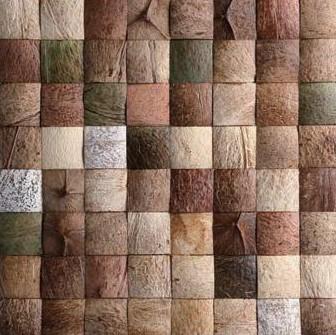 Mozaika z ořechů - obkladová dlaždice 30 x 30 cm_model COC 4111 1