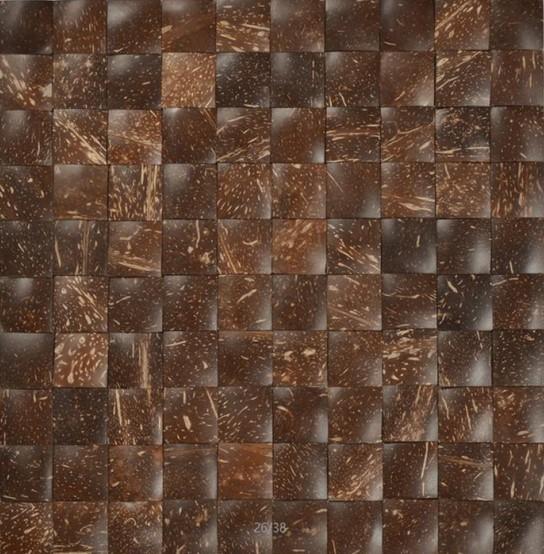 Mozaika z ořechů - obkladová dlaždice 30 x 30 cm_model COC 4140 1