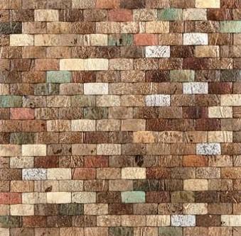 Mozaika z ořechů - obkladová dlaždice 30 x 30 cm_model COC 4139 1