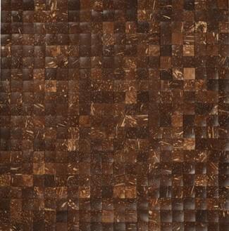 Mozaika z ořechů - obkladová dlaždice 30 x 30 cm_model COC 4142 1