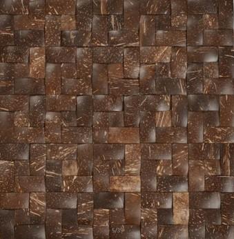 Mozaika z ořechů - obkladová dlaždice 30 x 30 cm_model COC 4143 1