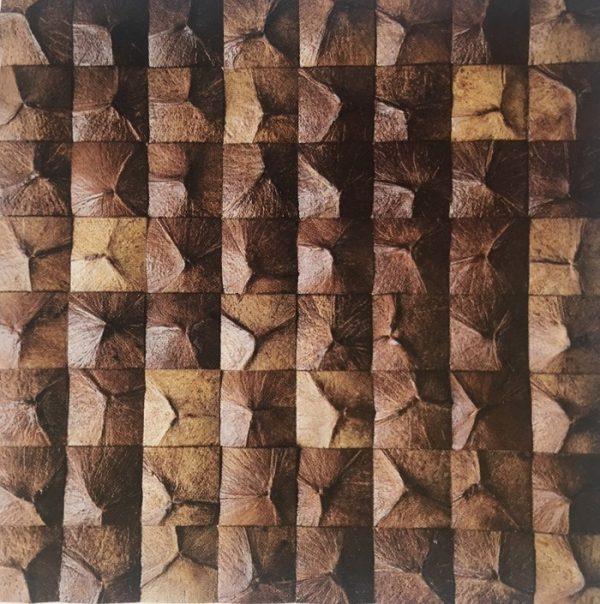 Mozaika z ořechů - obkladová dlaždice 30 x 30 cm_model COC 4120 1