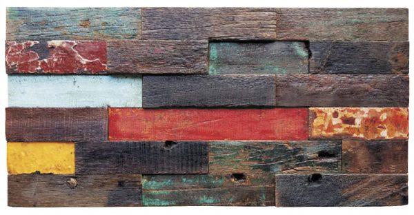 Dřevěná lodní mozaika - obkladová dlaždice 60 x 30 cm_model SHW 6247 1