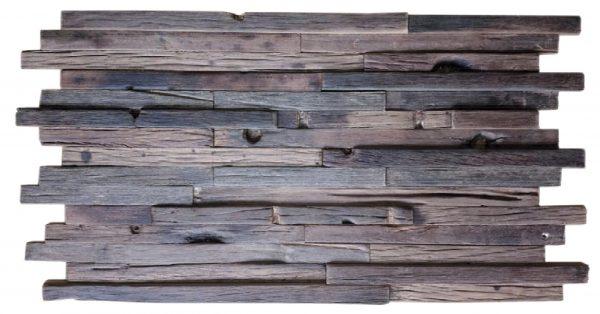 Dřevěná lodní mozaika - obkladová dlaždice 60 x 30 cm_model SHW 6248T 1