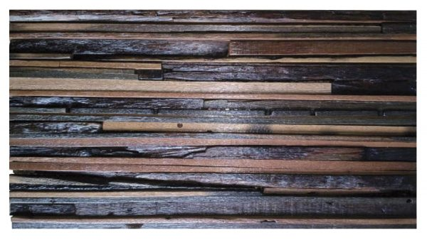 Dřevěná lodní mozaika - obkladová dlaždice 60 x 30 cm_model SHW 6273 1